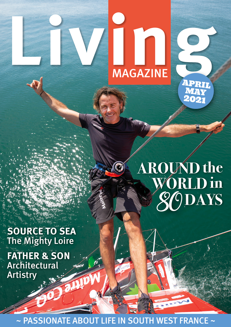 Living Magazine April 21 cover